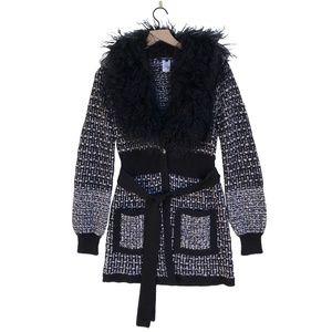Nanette Lepore Mongolian Fur Reisling Jacket